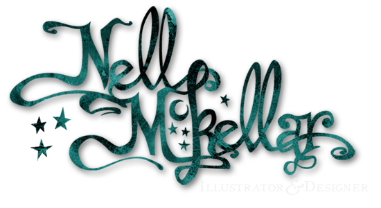 Nell McKellar Illustration Logo